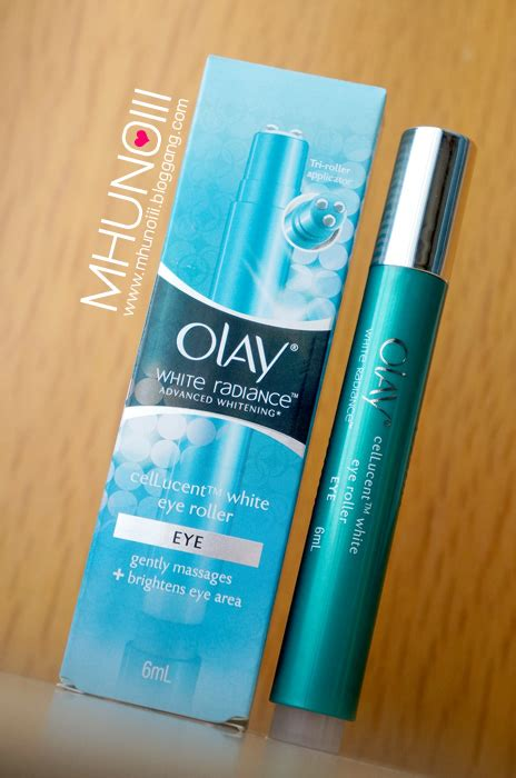 Olay White Radiance Eye Roller bloggang saray review olay white radiance