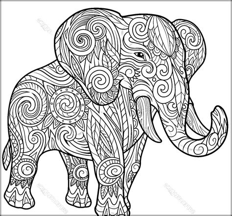 mandala coloring pages elephant elephant mandala coloring pages part 8 free resource