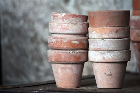 Terracotta Garden Pots Vintage Terra Cotta Garden Pots