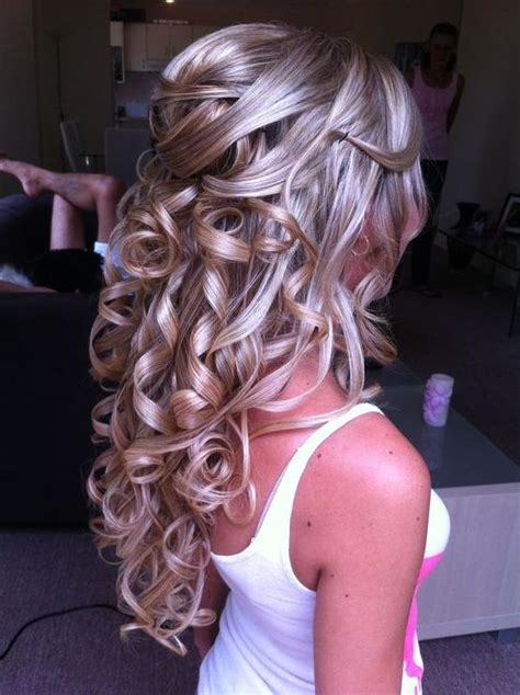Homecoming Hairstyles Half Up Half by Gorgeous Hairstyles For Prom Or Homecoming Hairstyles How To