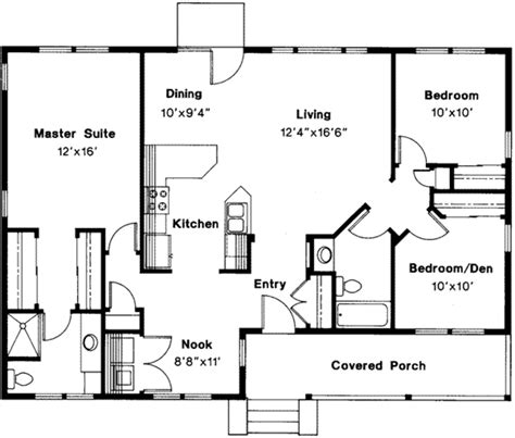 house plans for free farmhouse style house plan 3 beds 2 baths 1328 sq ft