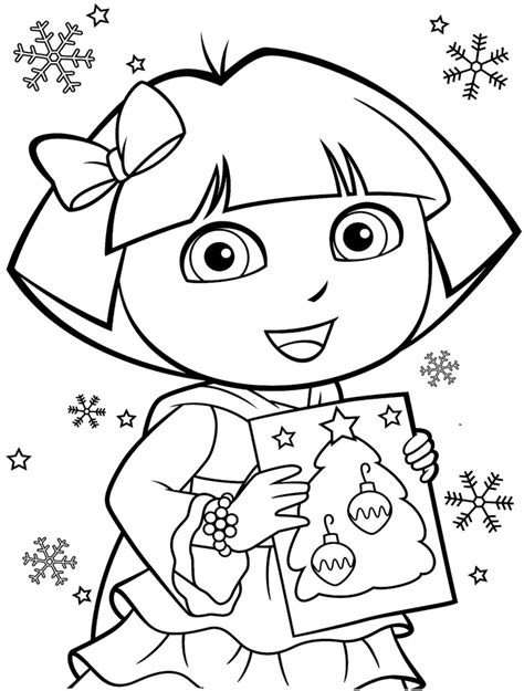 Free Printable Dora The Explorer Coloring Pages Free The Explorer Coloring Pages