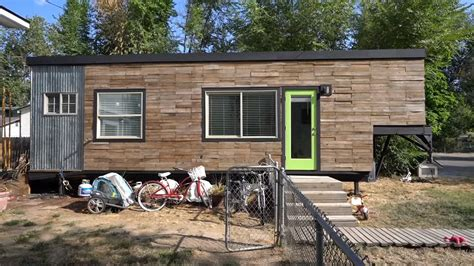 tiny house for family of 5 family of 5 living in 232 sq ft tiny house on wheels