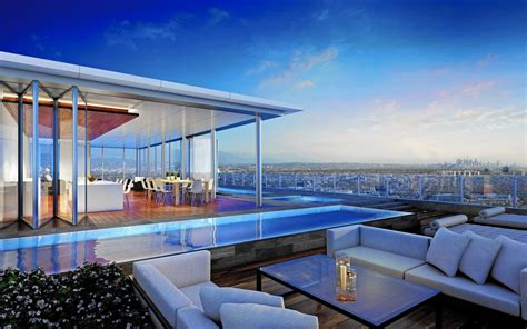 living on zenith of the world the luxury penthouse