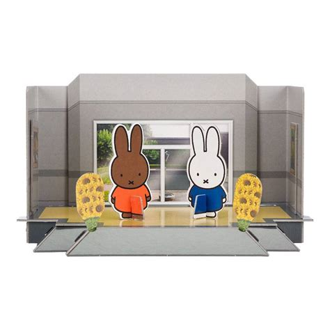 Paper Craft Museum - papercraft kit miffy at the kr 214 ller m 220 ller museum