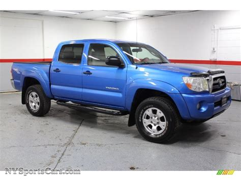2005 Toyota Tacoma 4x4 2005 Toyota Tacoma V6 Trd Cab 4x4 In Speedway Blue