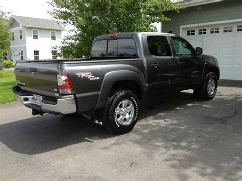 Toyota Tacoma Road Package Purchase Used 2011 Toyota Tacoma Trd Road Package