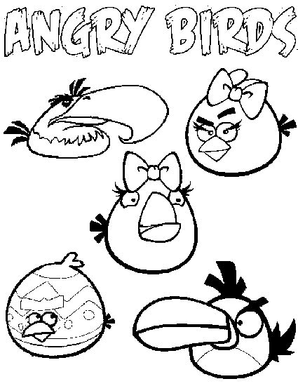 baby angry birds coloring pages angry birds coloring pages free