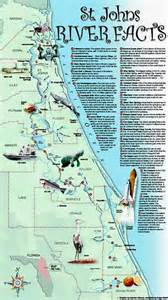 florida river map st johns river information guide florida lakes and rivers