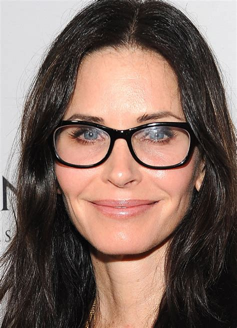 how advertisers make super hot actresses look more like courteney cox 21 celebrities who prove glasses make