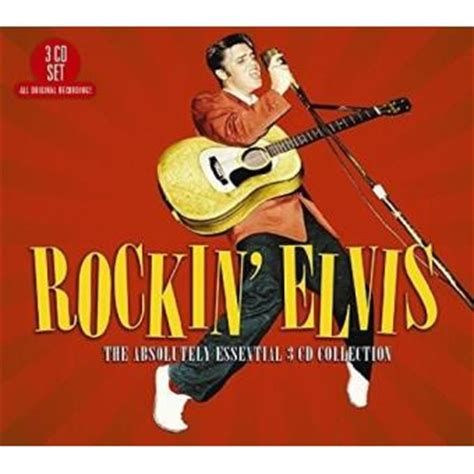 rockin elvis the absolutely essential 3 cd collection elvis cd album achat prix