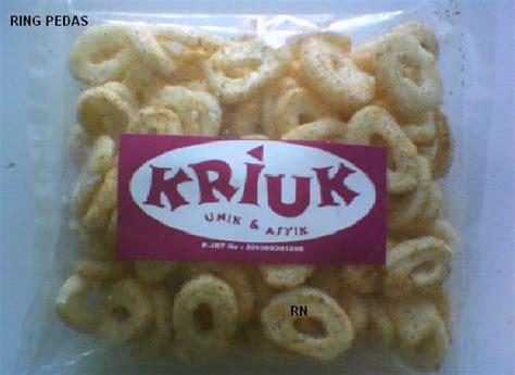 kriuk snack snack kriuk cemilan daftar produk