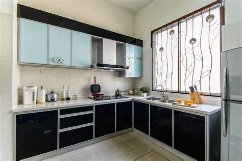 Aluminium Kitchen Cabinet Kitchen Steel Cabinets Types Of Kitchen Cabinet Material Infurnia Al Mijdaf Aluminium Factory