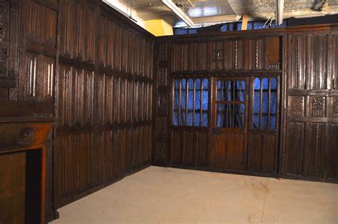 paneled rooms rare tudor oak paneled room for sale at 1stdibs