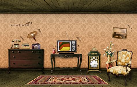 retro room retro room portfolio by osher on deviantart
