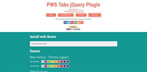 creating jquery tabs jquery tabs plugins for creating beautiful tabs bestdevlist