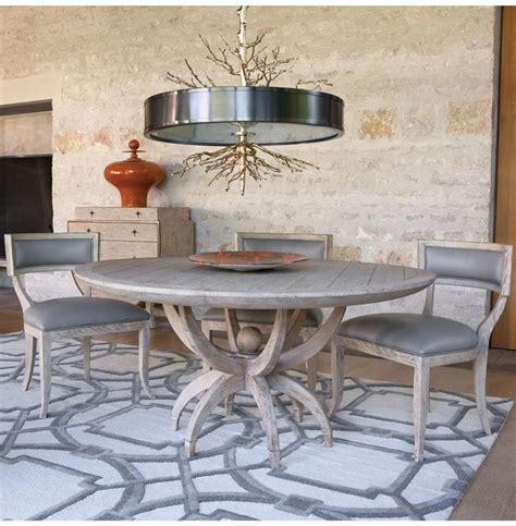 Coastal Dining Table Atticus Coastal White Oak Contemporary Dining Table