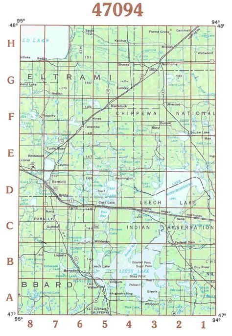minnesota topographic map themapstore usgs minnesota topographic maps
