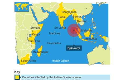 world map of tsunami affected areas gallery diagram