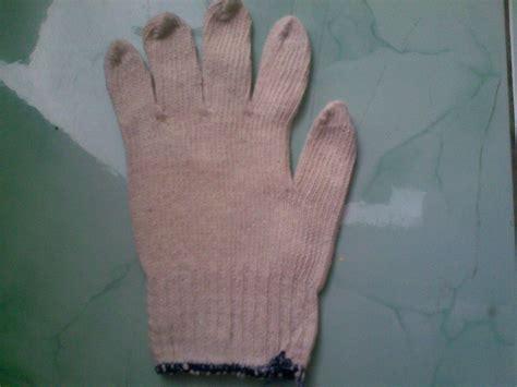 Sarung Tangan Kerja Benang Putih harga dan katalog distributor sarung tangan rajut