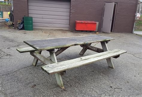 used picnic bench used picnic bench gallery of used picnic tables for sale