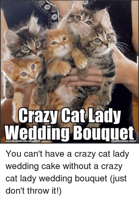 Crazy Cat Lady Meme - 25 best memes about wedding cake wedding cake memes