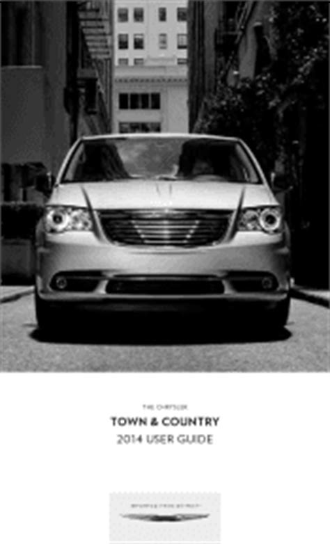 chrysler town and country 2014 owners manual 2014 chrysler town country manuals