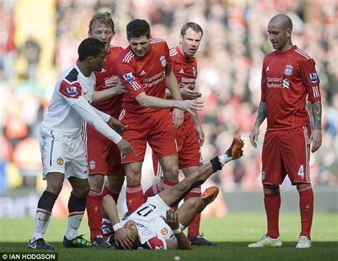manchester united vs liverpool 3 1 fantastic match hd 12 liverpool 3 manchester united 1 dirk kuyt hat trick dents