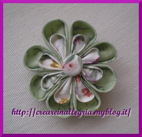 fare fiori di stoffa fiori di stoffa creare in allegria