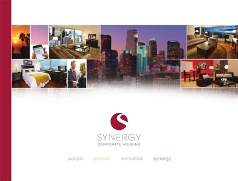 synergy corporate housing synergy corporate housing general overview of services