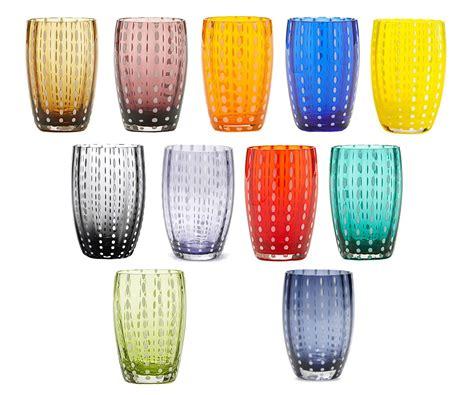 le perle bicchieri bicchiere singolo tumbler perle pr001 zafferano