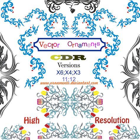 corel draw x5 jpg to vector vector ornaments corel draw by ornamento on deviantart