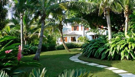 Tropical Front Garden Ideas Tropical Landscaping Key West Fl Photo Gallery