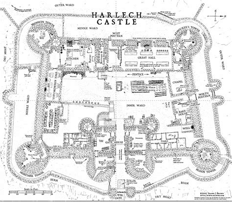 fantasy castle floor plans harlech castle floor plans in wales but still a really