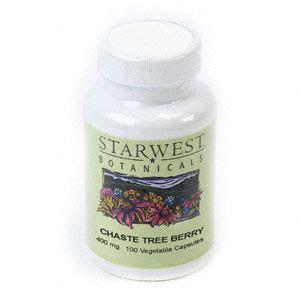 Chaste Tree Berry Pills Detox Genie by Chaste Tree Berry Herb Capsules