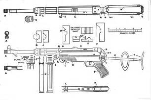 Drawing Blueprints the blueprints com blueprints gt weapons gt machine guns gt mp40 draw