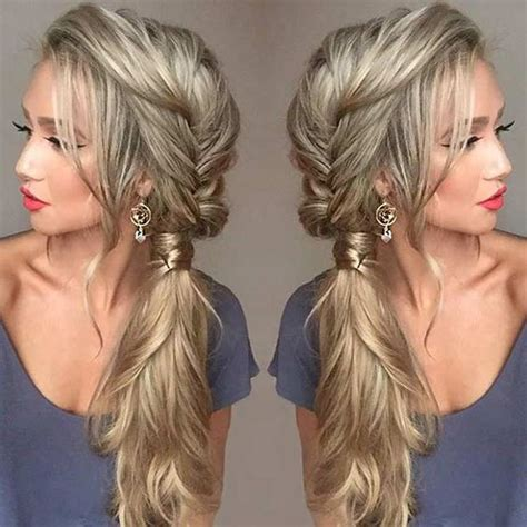 hair long enough for a ponytail 1000 ideas about bridesmaid ponytail on pinterest curly