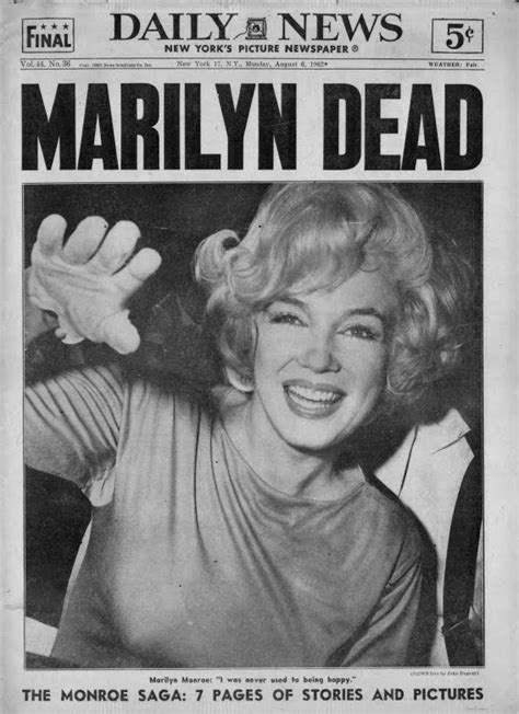 how did marilyn die bert garcia goodbye norma jeane