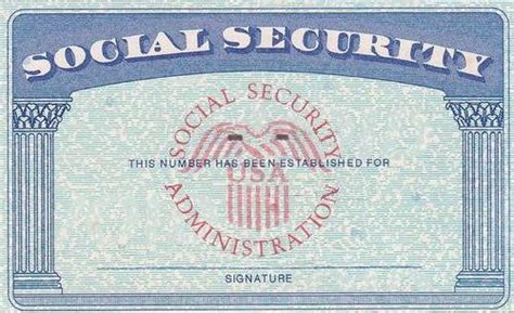 blank social security card template pdf social security if still working reduced taxable