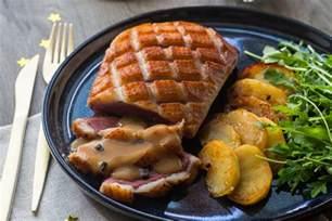 magret de canard sauce p 233 rigueux aux pommes fondantes