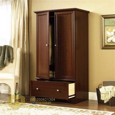 Almari Lemari Pakaian Laci Pintu 2 Minimalis Teak Furniture lemari pakaian minimalis 2 pintu gallery mebel