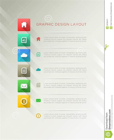 layout designer page design layout stock image image 33769471