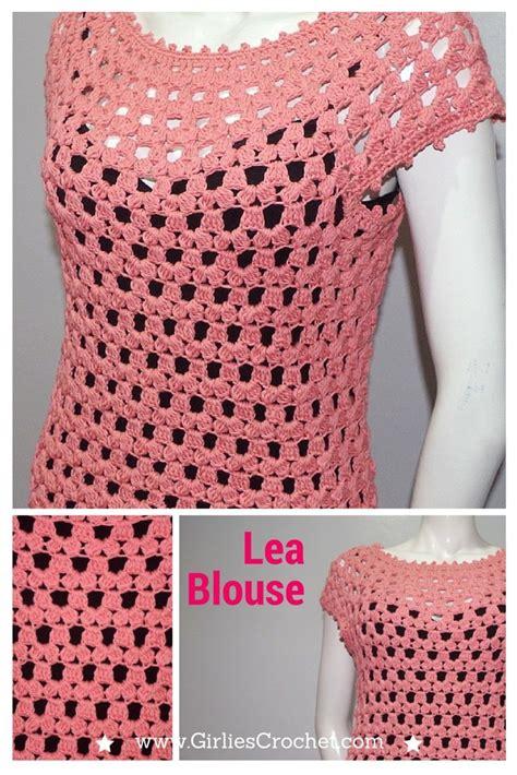 blouse pattern in pinterest free crochet pattern lea blouse a crochet blouse