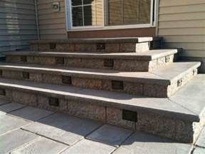 How To Build Patio Stairs by How To Prep And Build Stair For My Paver Patio Diy