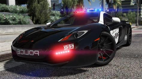 police mclaren gtainside gta mods addons cars maps skins and more