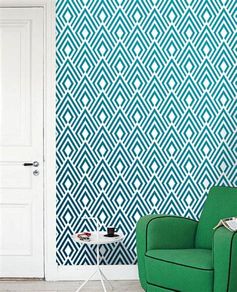removable wallpaper adhesive removable self adhesive modern vinyl wallpaper wall sticker ikat pattern wallpaper print c004