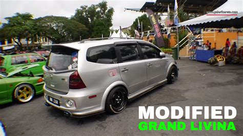 modified grand livina bodykit design for nissan nissan grand livina custom modified gathering geng