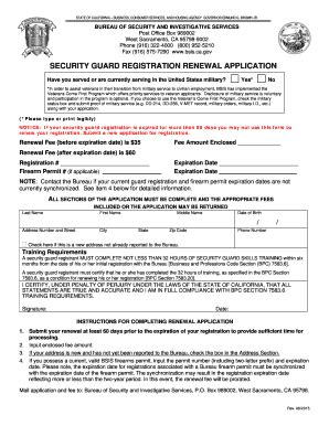 Security Guard Application Form Template 12 Facts About Security Guard Application Form Template