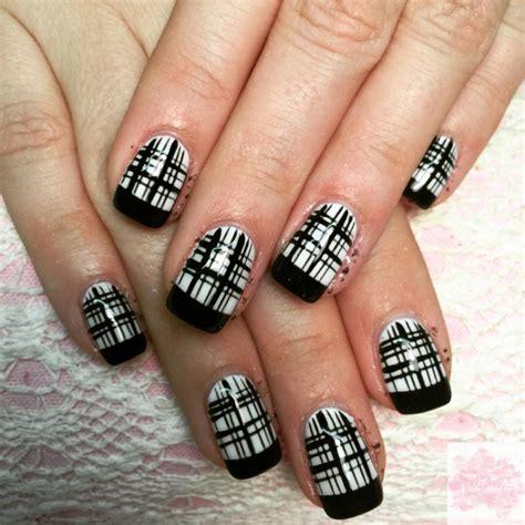 plaid pattern nails 20 plaid nail art designs ideas design trends