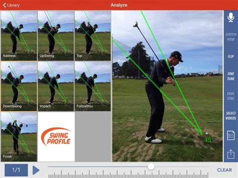 swing profile app reviews golf swing analysis for iphone and ipad golf swing